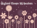Stylized Flower Photoshop Brushes
