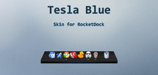 Tesla Blue by Nv1jk