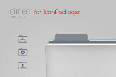 Ciment icons for IP