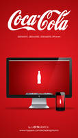 Wallpaper Coca Cola by redsoul90