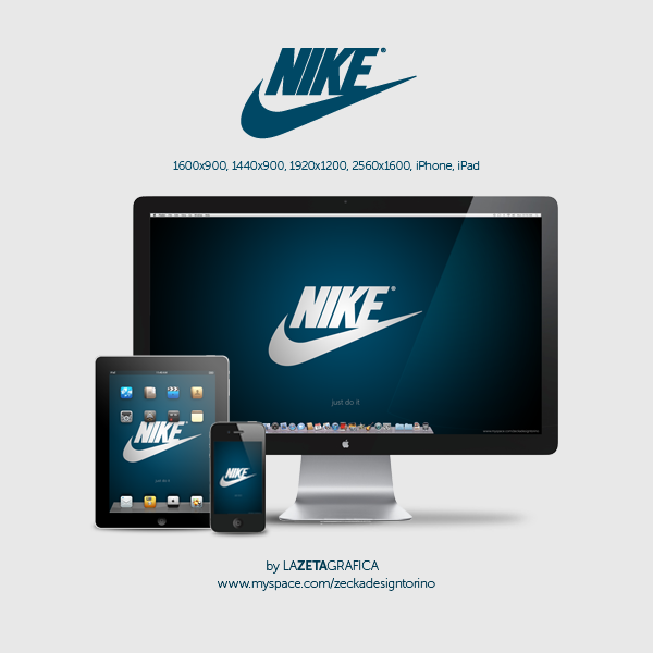 nike wallpaper. Wallpaper Nike by ~redsoul90