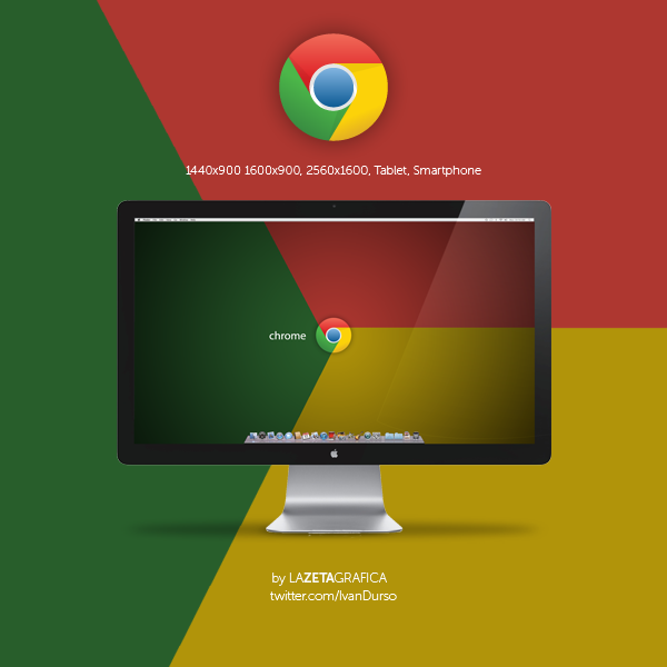 Wallpaper Chrome New Logo by redsoul90