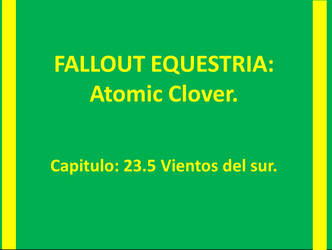 ATOMIC CLOVER Capitulo 23.5