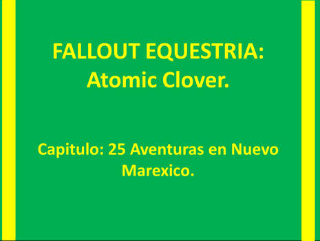 ATOMIC CLOVER Capitulo 25