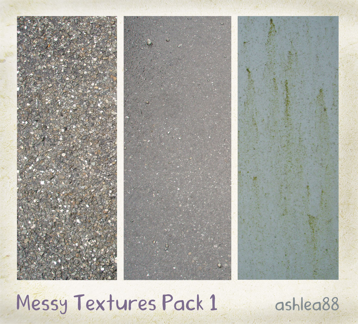 Messy Textures Pack 1