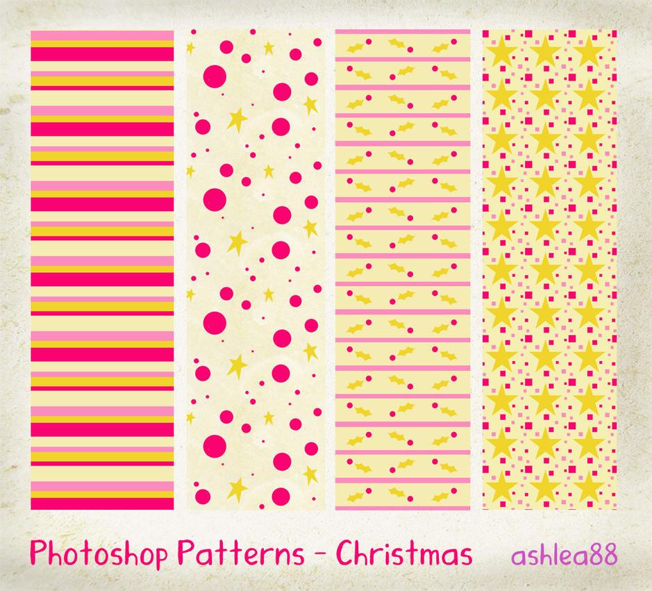 مكتبة الباترن 2013 ( اكبر تجميعه لملفات البآترن ) 2013 Photoshop_Patterns___Christmas_by_ashzstock