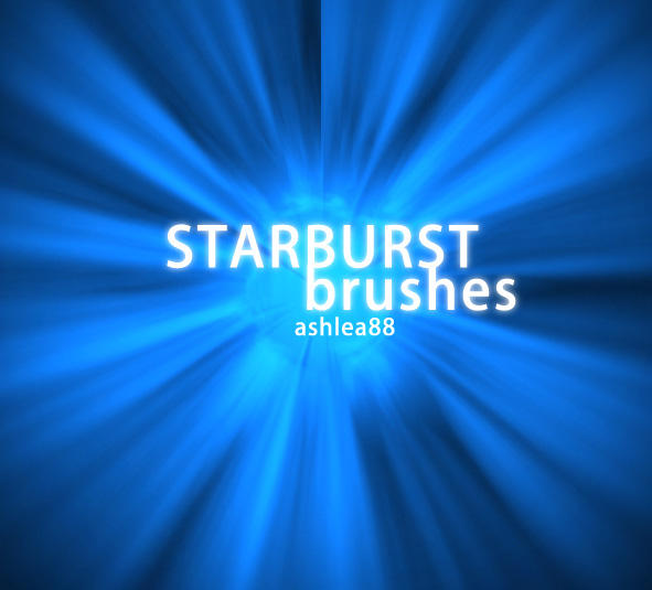 Starburst Brushes by ashzstock