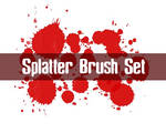 Splatter Brush Set