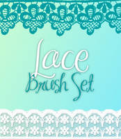 Lace Brush Set by ashzstock