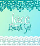 Lace Brush Set