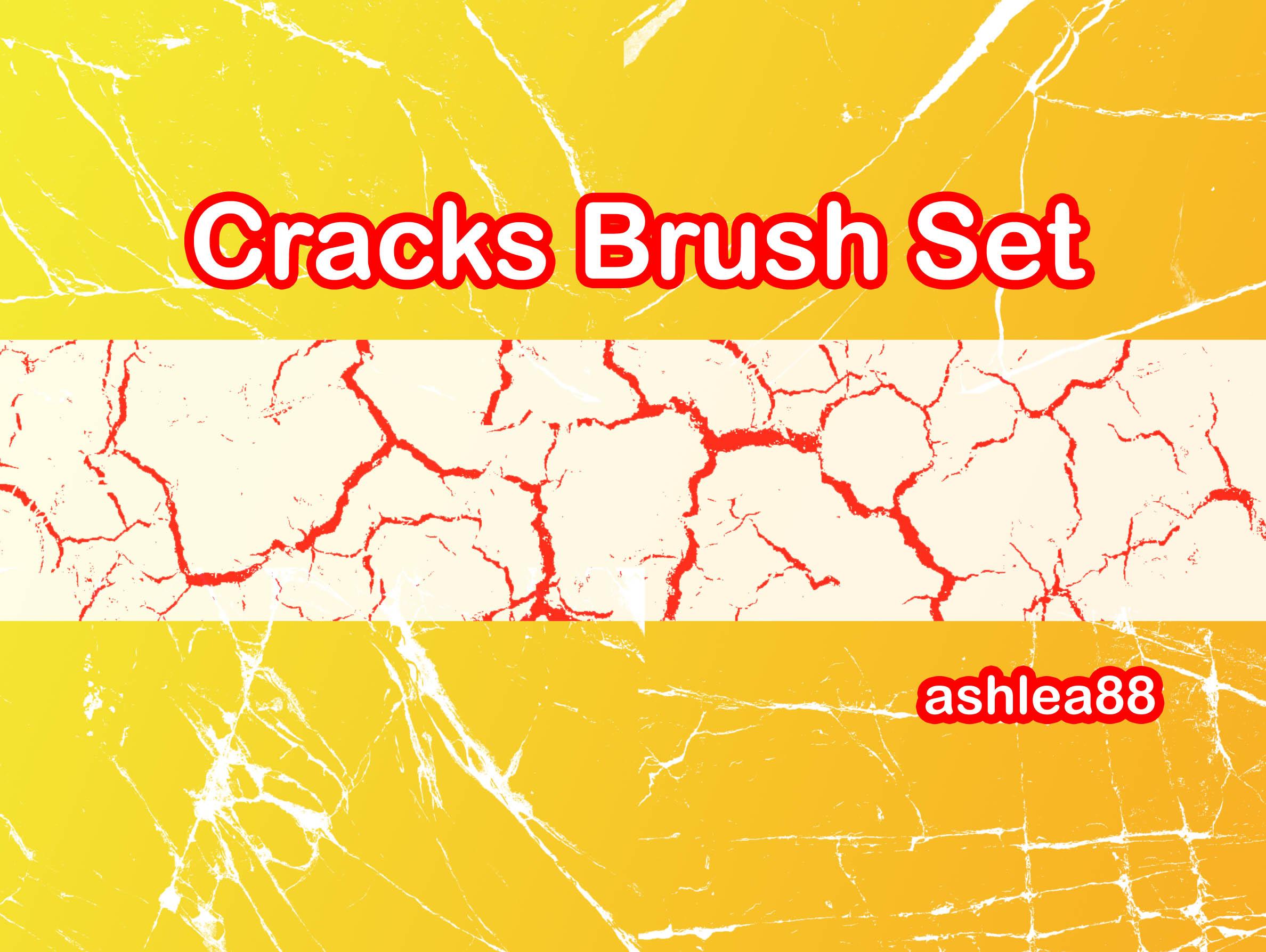 Cracks Brush Set