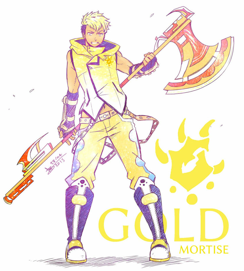RWBY: Gold Mortise by Cambosa1 on DeviantArt