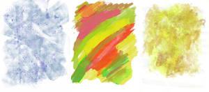 Three Watercolour Textures