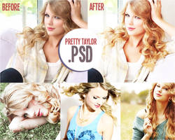 Pretty Taylor PSD by cheerfuldesigns