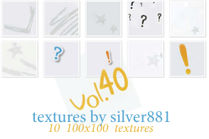vol40 - icon textures by silver881