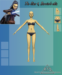 42. The Sims 4, Barriss's skin by RayneTheQueen