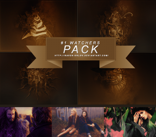 +1K Watchers Pack by raven-orlov