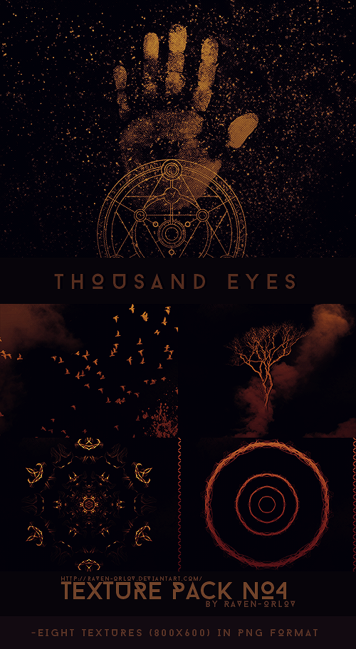 Texture Pack #4 - Thousand Eyes