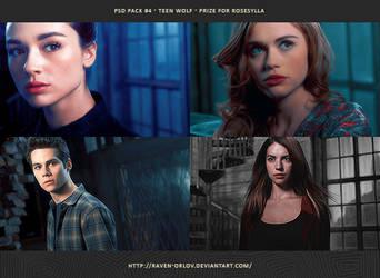 PSD Pack #4 - Teen Wolf by RavenOrlov