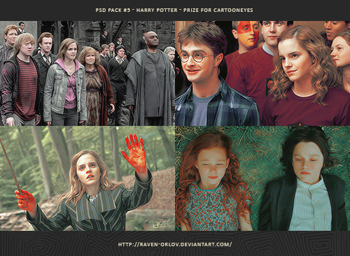 Psd Pack 5 Harry Potter By Ravenorlov On Deviantart
