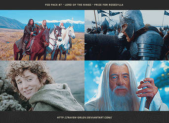 PSD Pack #7 - Lord of the Rings by RavenOrlov