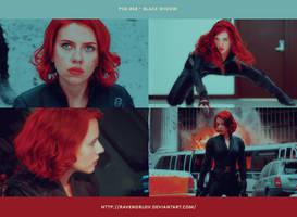 PSD #68 - Black Widow by RavenOrlov