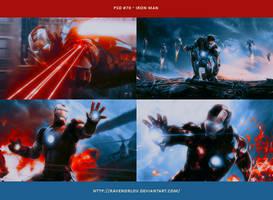 PSD #70 - Iron Man by RavenOrlov