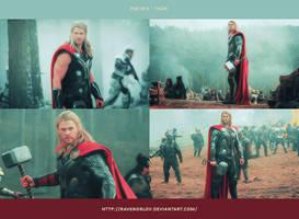 PSD #71 - Thor by RavenOrlov