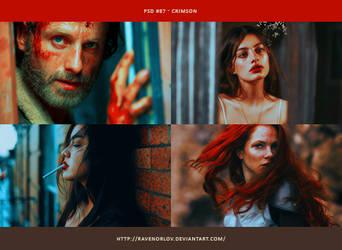 PSD #87 - Crimson by RavenOrlov