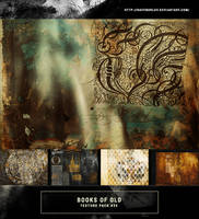 Texture Pack #35 - Books Of Old by RavenOrlov