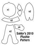 2010 Plushie Pattern