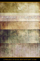 4 Grunge Texture Pack - 2 by lynel04-stock