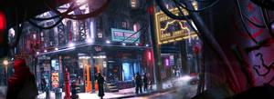 Lower Level of City by DigitalCutti