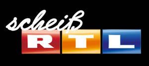 Scheiss RTL Logo