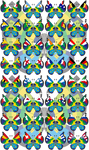 Vivillon - 2014 FIFA World Cup Brazil - Version 1