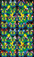 Vivillon - 2014 FIFA World Cup Brazil - Version 2