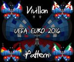 Vivillon UEFA Euro 2016 pattern