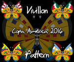 Vivillon Copa America 2016 pattern (Request)