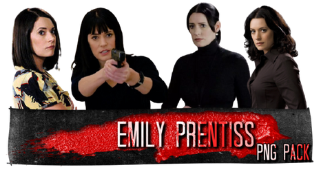 Criminal Minds Emily Prentiss PNG Pack