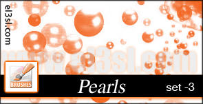 PHs...Pearl..Brushes. set 3 by el3sl-stock
