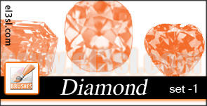 PHs  Diamond  Brushes  set 1 by el3sl-stock