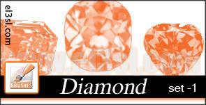 PHs  Diamond  Brushes  set 1 by el3sl-stock