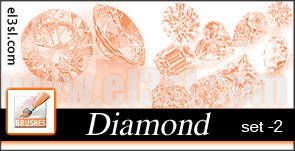 PHs  Diamond  Brushes  set 2 by el3sl-stock