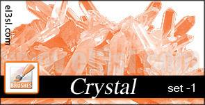 PHs  Cristal  Brushes  set 1 by el3sl-stock