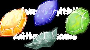 Evolution Stone Matching Game