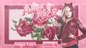 PACK FLOWERS PNG  2