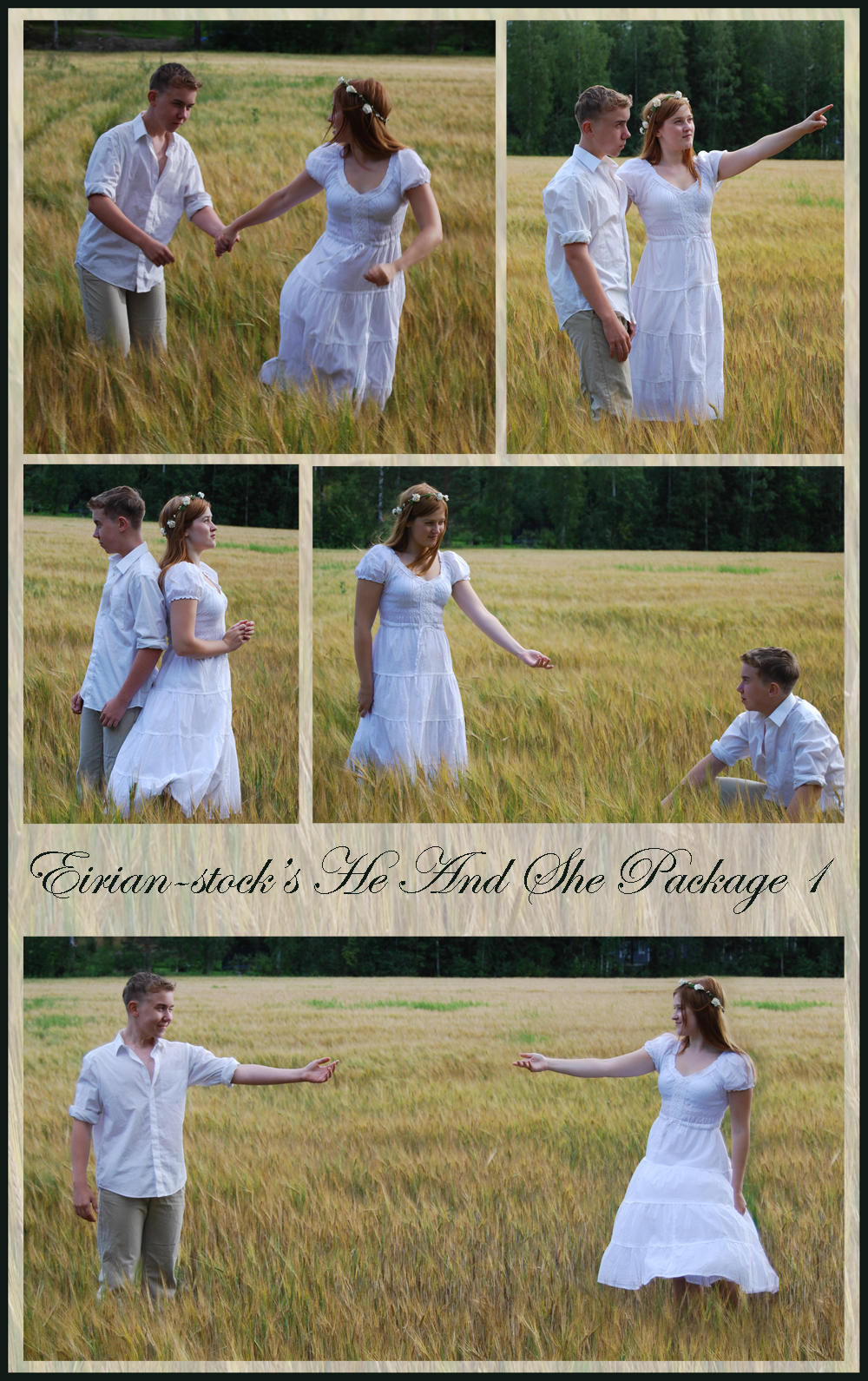 He And She Package I by Eirian-stock