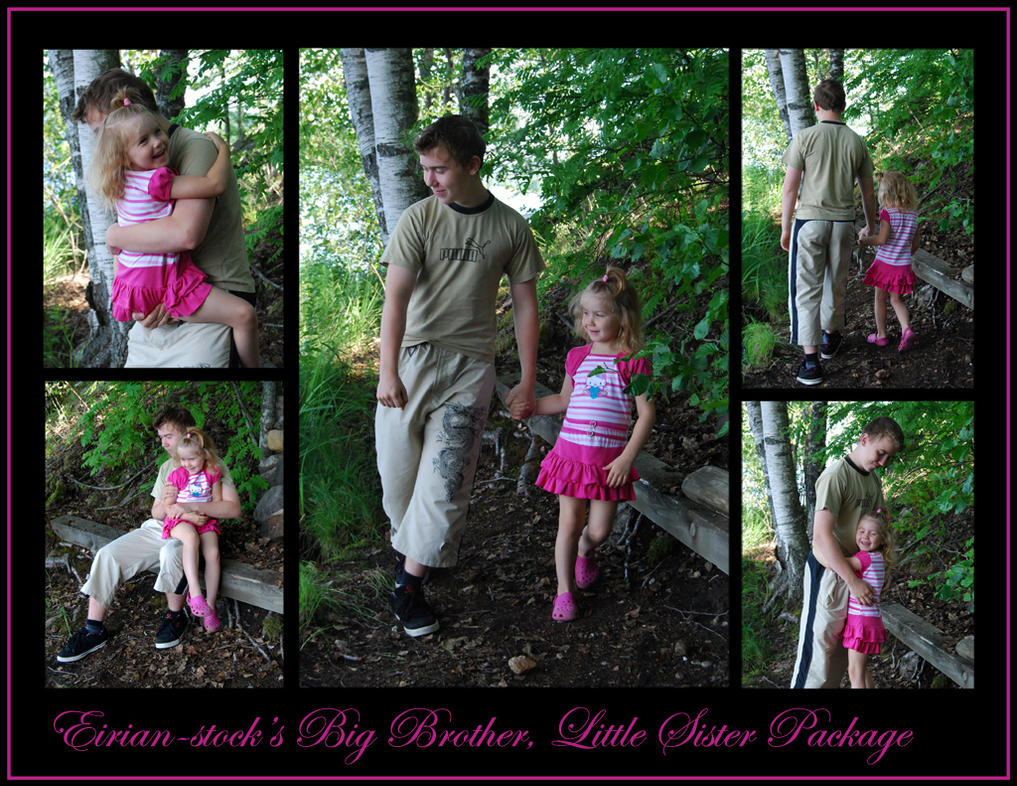 little sis Big Bro And Little Sis Package by Eirian-stock ...
