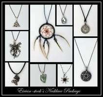 Necklace Package by Eirian-stock