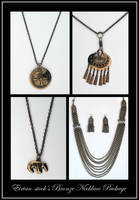 Bronze Necklace Package by Eirian-stock